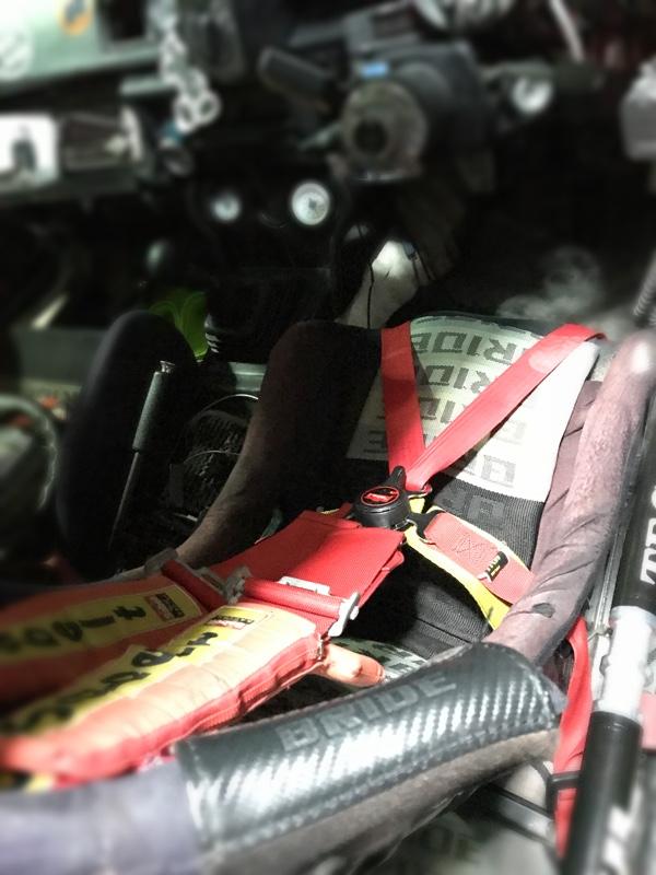 運転席側股下シートベルト追加