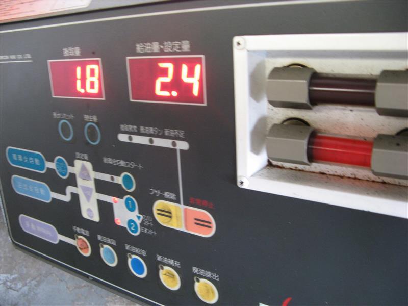 ハイエースATF圧送交換。走行303575キロ