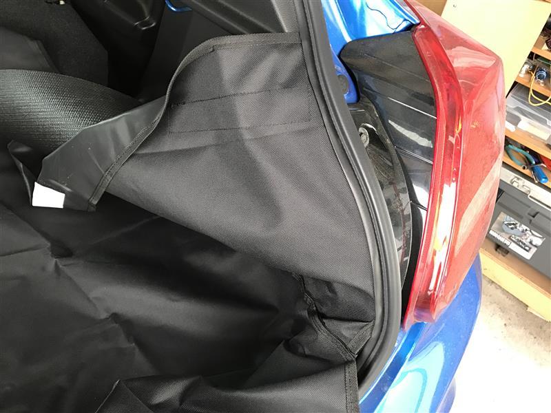 KYG ペット用ドライブシート設置