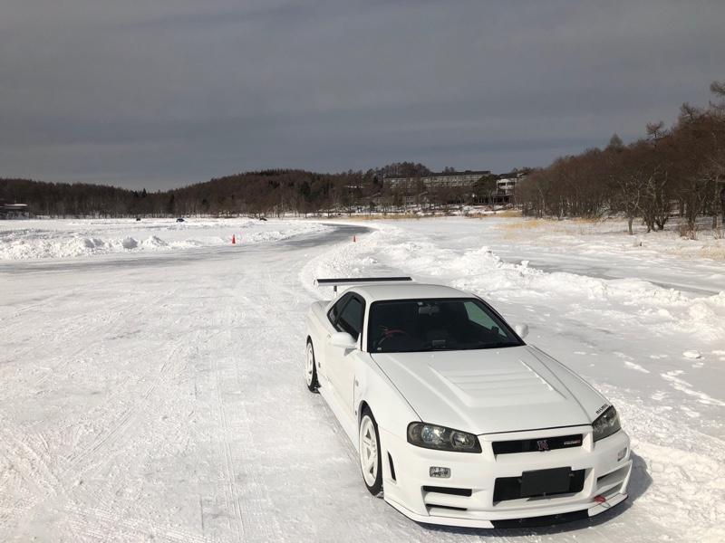 2018/02 女神湖 氷上