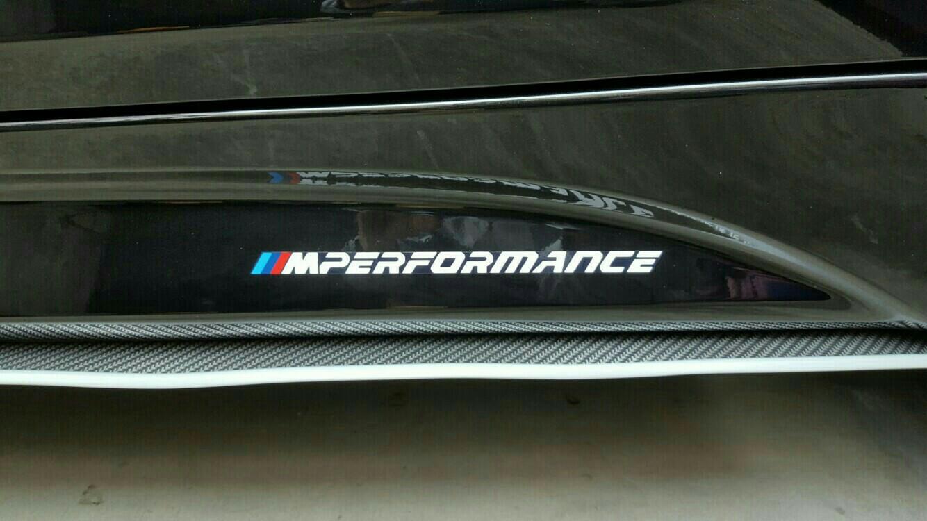 自作M Performanceステッカー