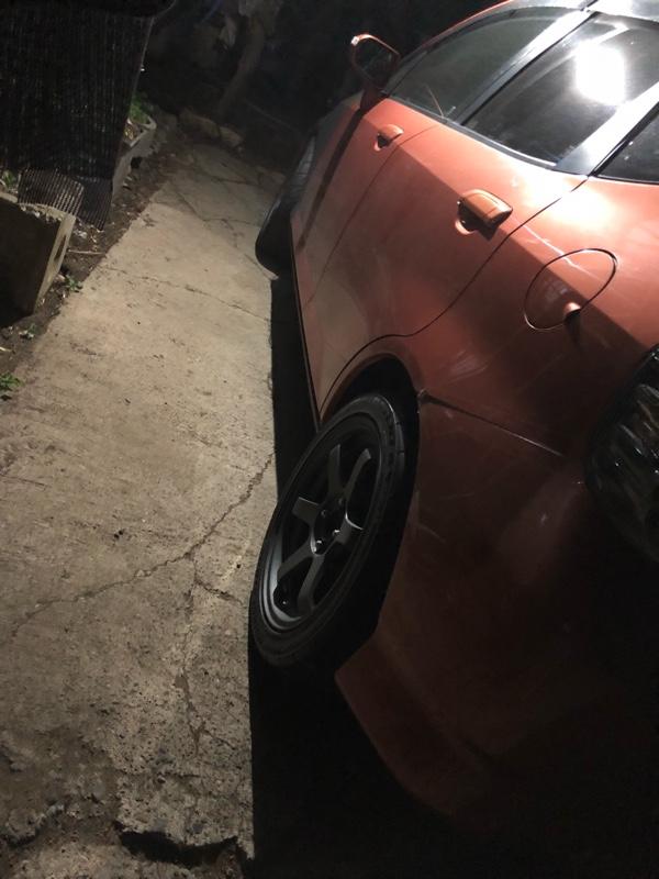 タイヤ交換…(汗)