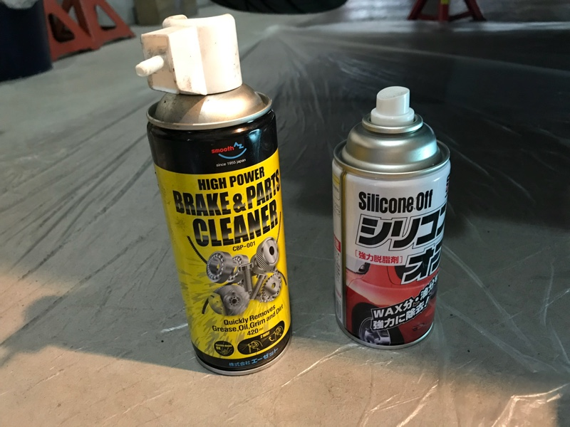 下回り清掃と塗装