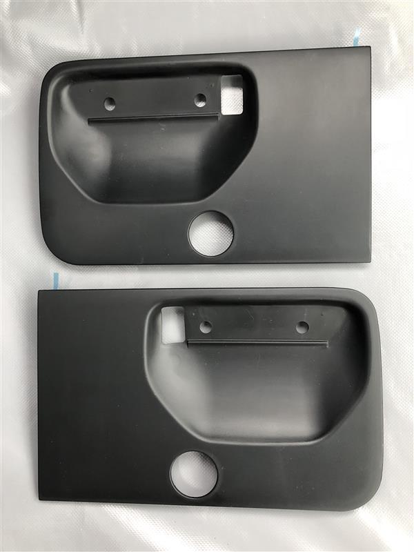 ドアハンドル交換&ハンドルプロテクター装着