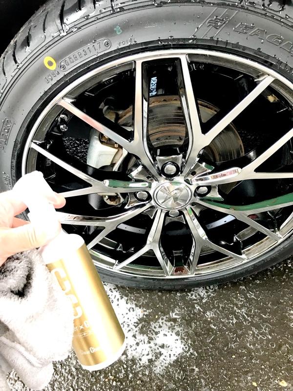 恒例の週末洗車 ボディー&ホイールコーティング