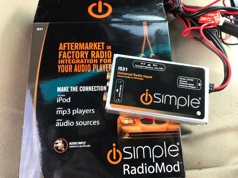 iSimple FMモジュラー AUX追加