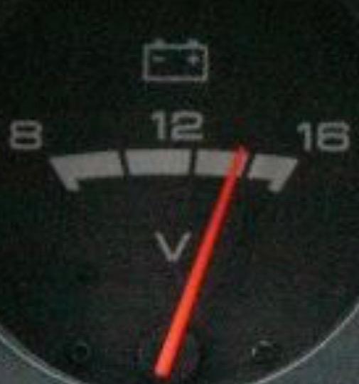 車載電圧メーターからの考察⁉️