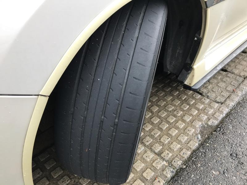 タイヤ交換( *`ω´)
