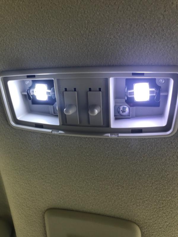 チップLEDから面発光LEDに交換