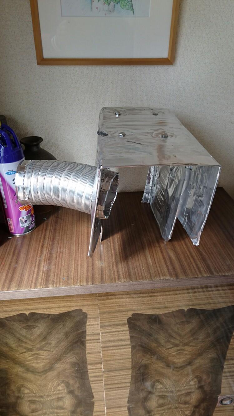 自作エアクリーナーボックス