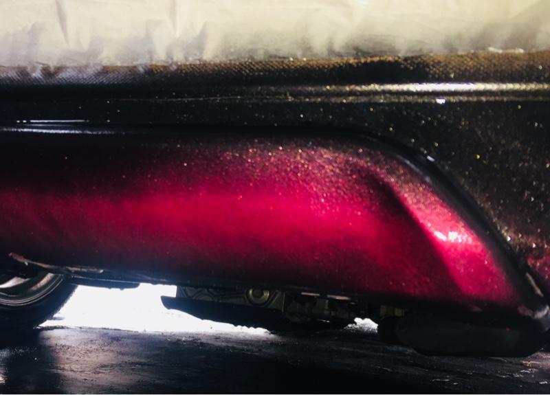 モデリスタリアスポイラー補修&カスタム塗装