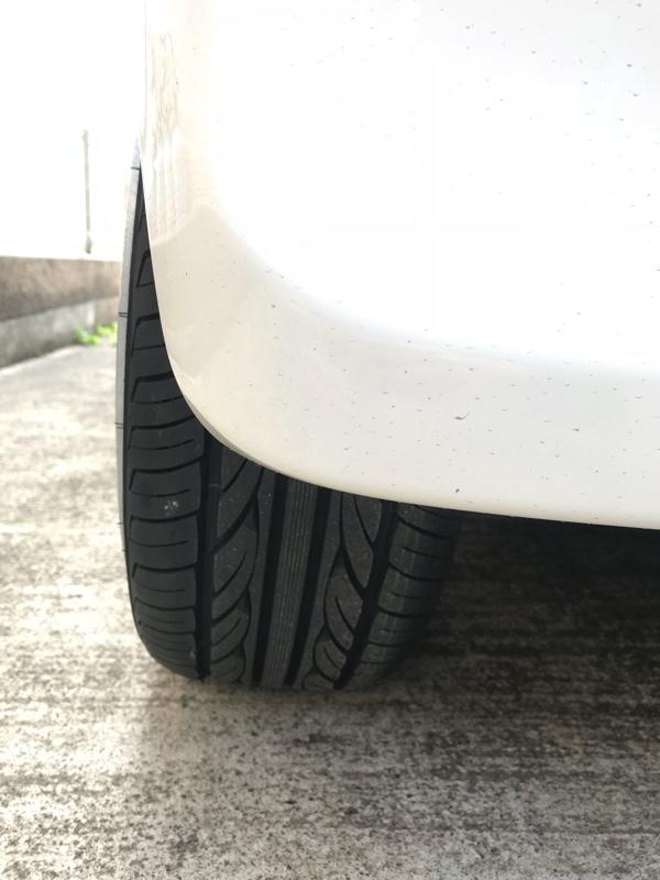 タイヤ新品取り付け