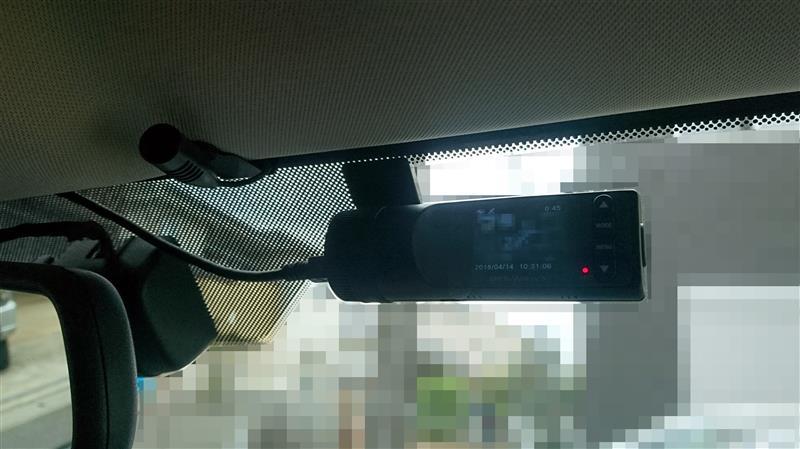 ドライブレコーダーの取り付け②