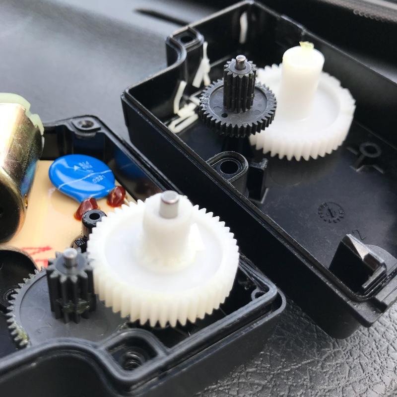内外気切り替えユニット修理