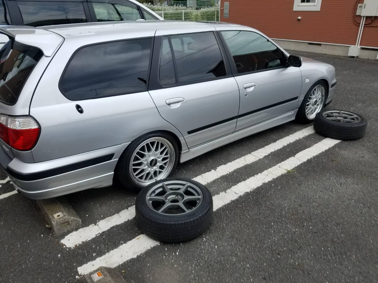 タイヤ入れ替え