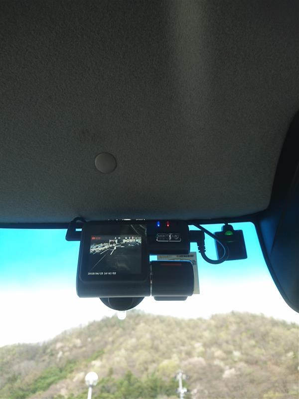 ドライブレコーダーカバー作成
