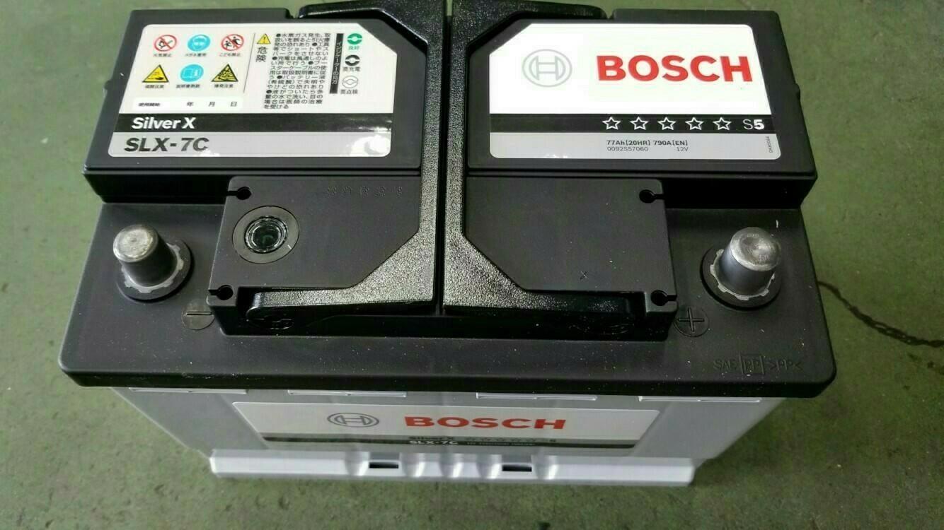バッテリー交換 BOSCH Silver X SLX-7C