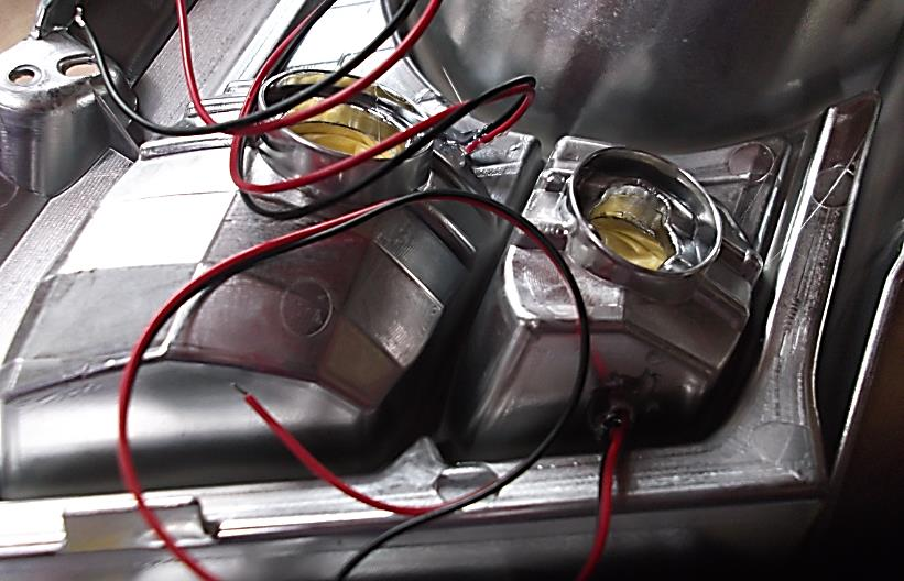 ヘッドライトイルミ化 其の三