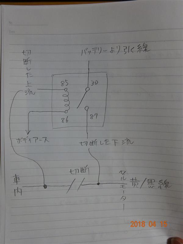 カチカチ病(リレー追加対策編)