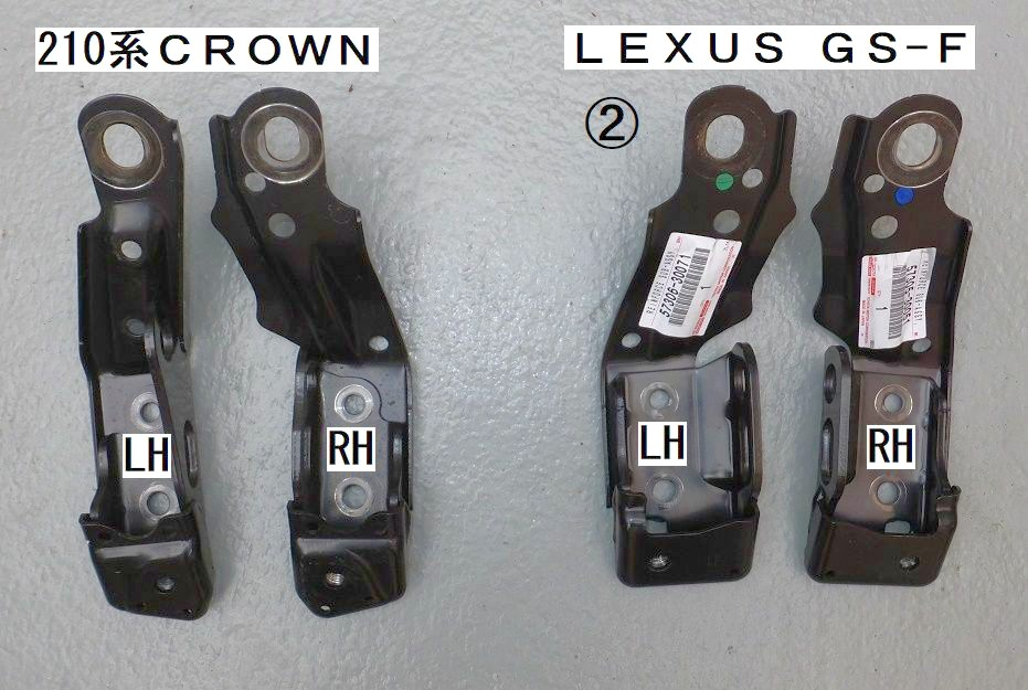 LEXUS純正GS-F フロントサスペンションメンバブレ-ス流用✨