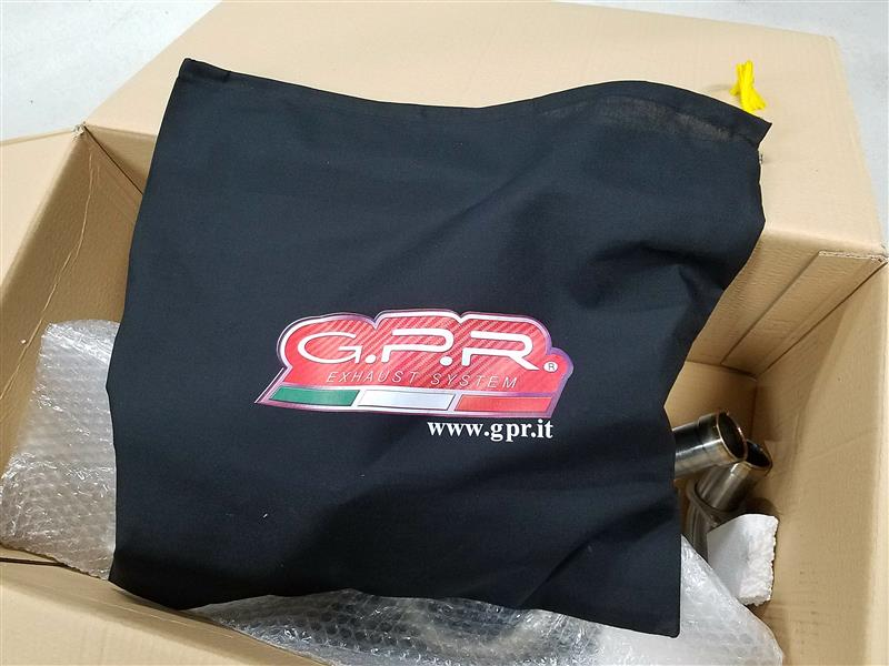 GPR deeptone nero うるさいわ!!