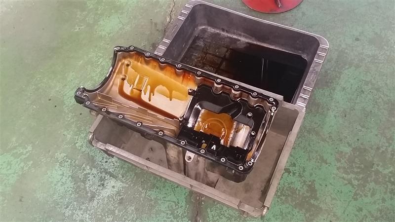 パワステオイル漏れ、エンジンマウント交換、オイルパンガスケット交換