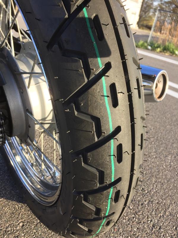 タイヤ交換と1年点検