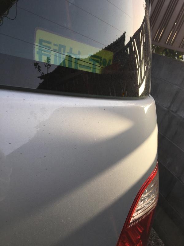 洗車3回目