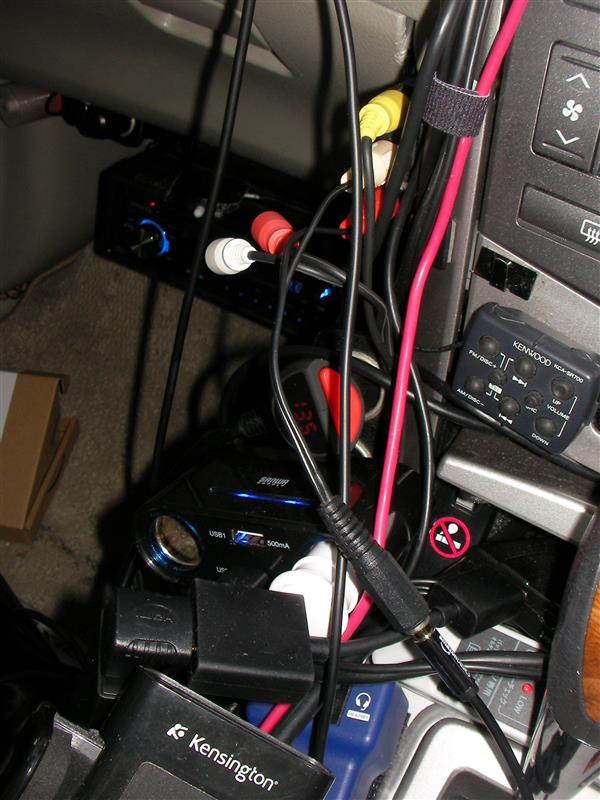 Echo Dotを車載スピーカーに接続
