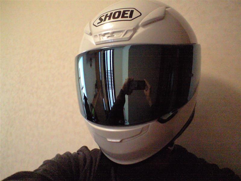 ヘルメット シールド交換