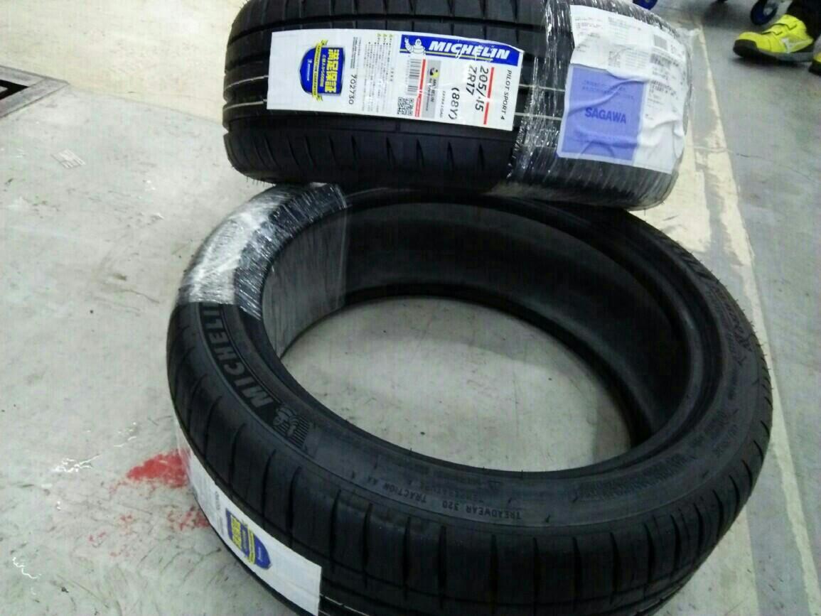 タイヤ交換 Michelin PILOT SPORTS 4