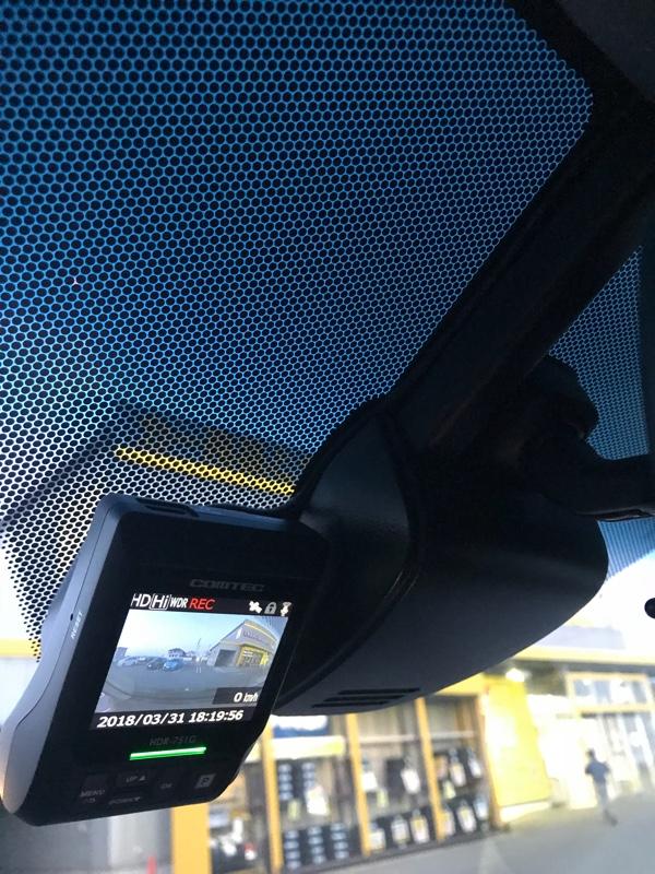 ドライブレコーダー HDR-751G 取付