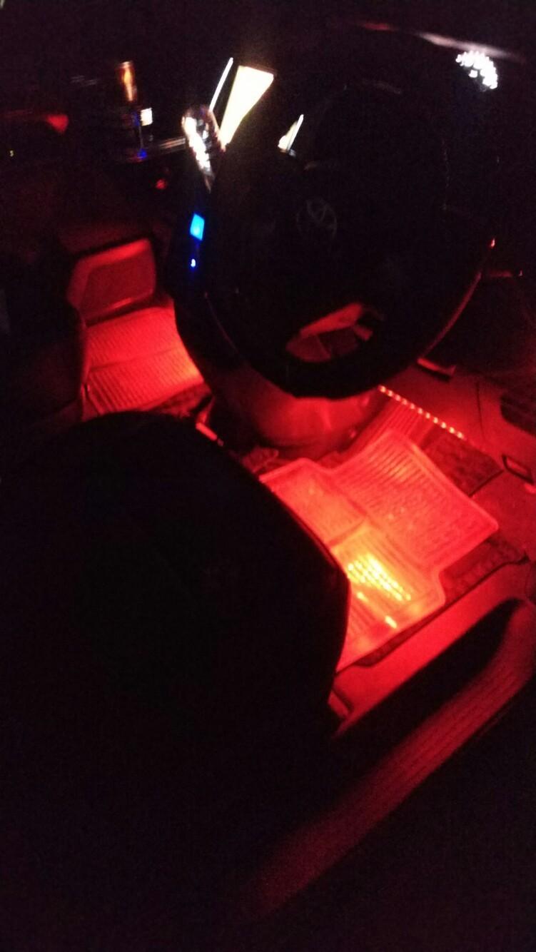 フットランプのLEDテープ交換!