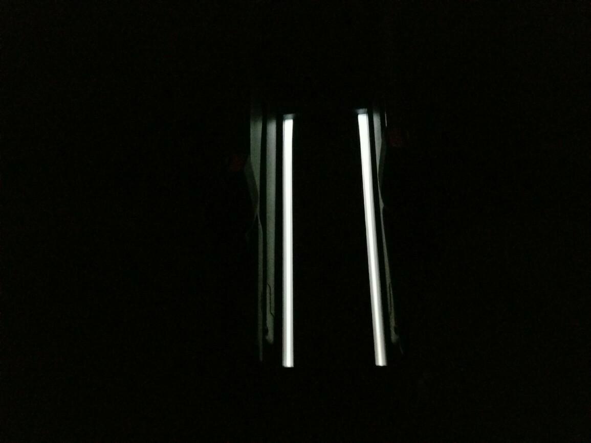 オープントレイ・フロントトレイイルミLED打ち替え(*^^*)