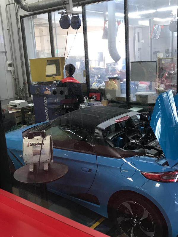 CVTオイル交換 & ECU現車セッティング