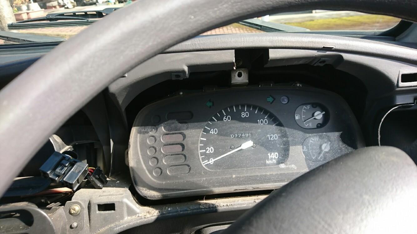 タコメーター付きスピードメーター