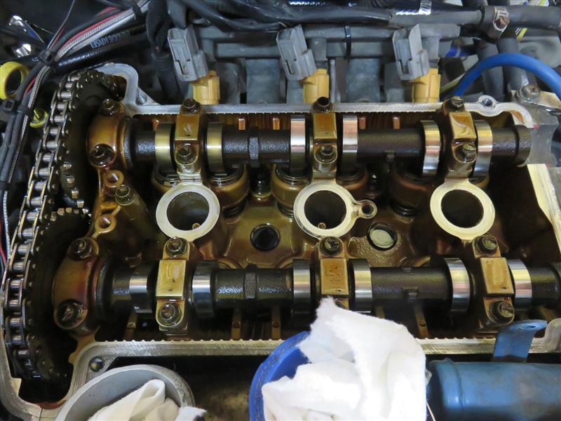 エンジン修理 ①