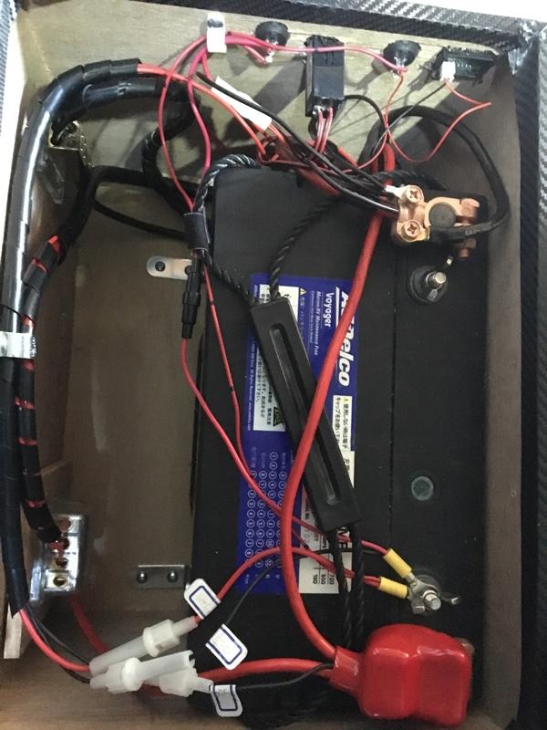 サブバッテリーケース リメイク