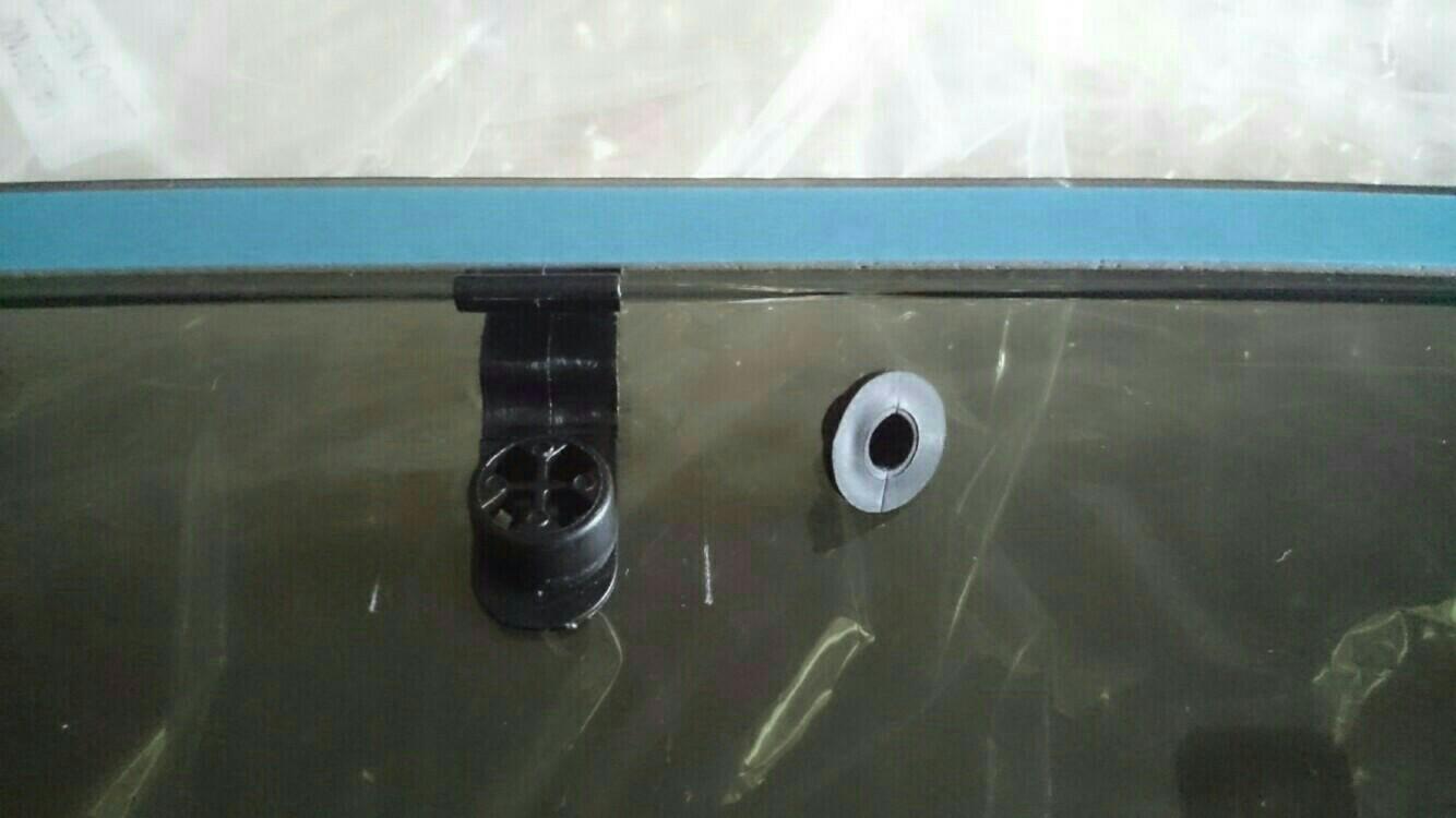ドアバイザー/サイドバイザーの取り付け