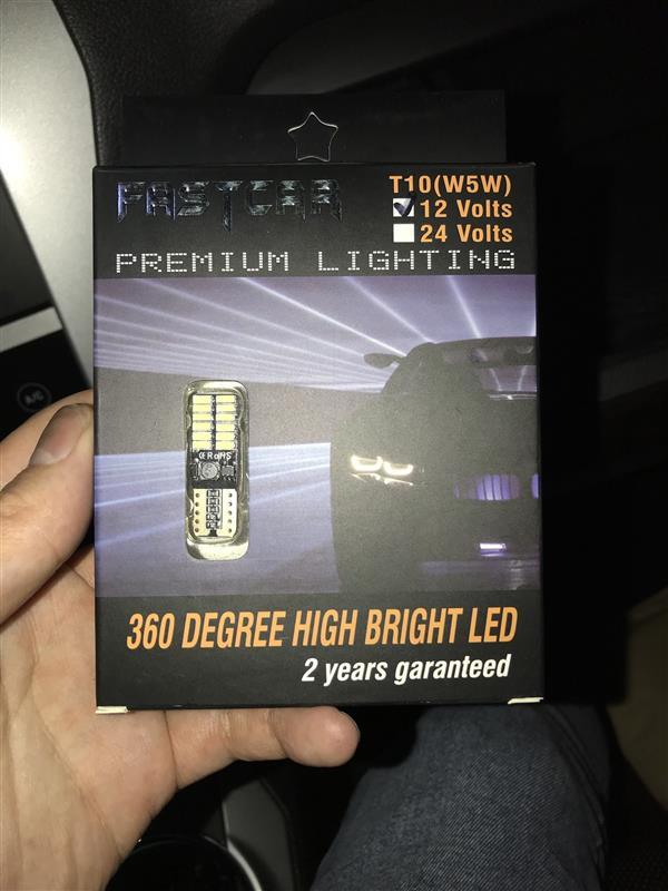 バニティとグローブボックス LED