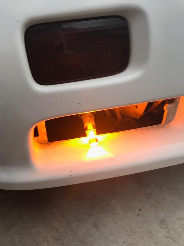 LEDウインカー交換