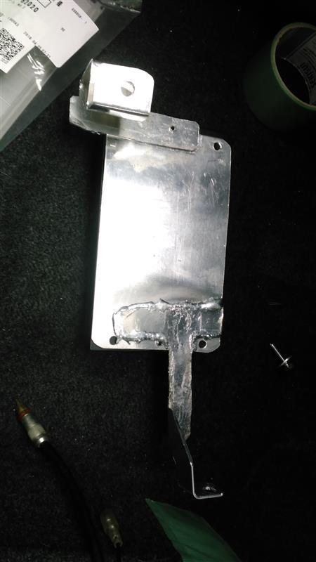 TS-V017パッシブクロスオーバ取付ステー製作