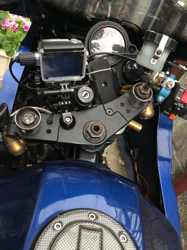アクションカメラ(ドライブレコーダー)位置修正