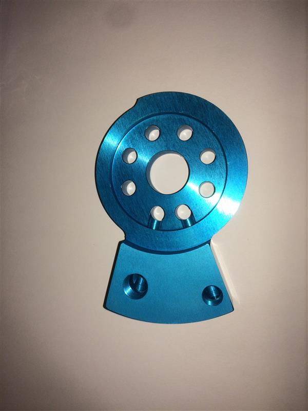 SSI水冷オイルクーラー 加工・取り付け