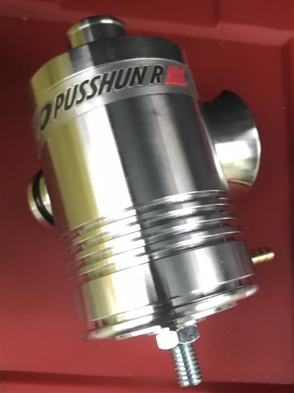 ブローオフバルブ交換【PUSSHUN R SS】