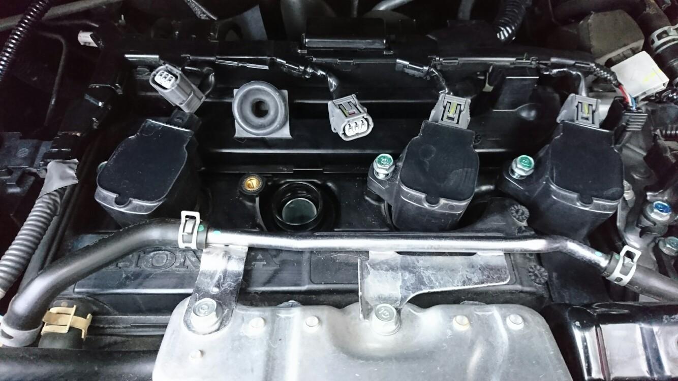 エンジンプラグの交換