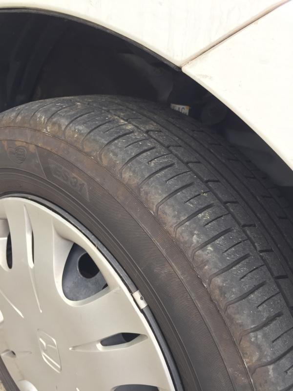 タイヤ交換 スタッドレス→ノーマル