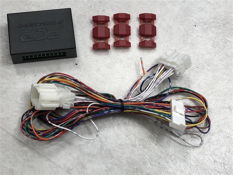 キーレス連動ドアミラー格納装置(その1_ドア内張外し)