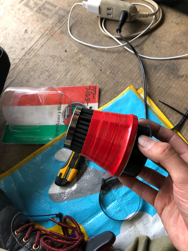 パワーフィルター小加工