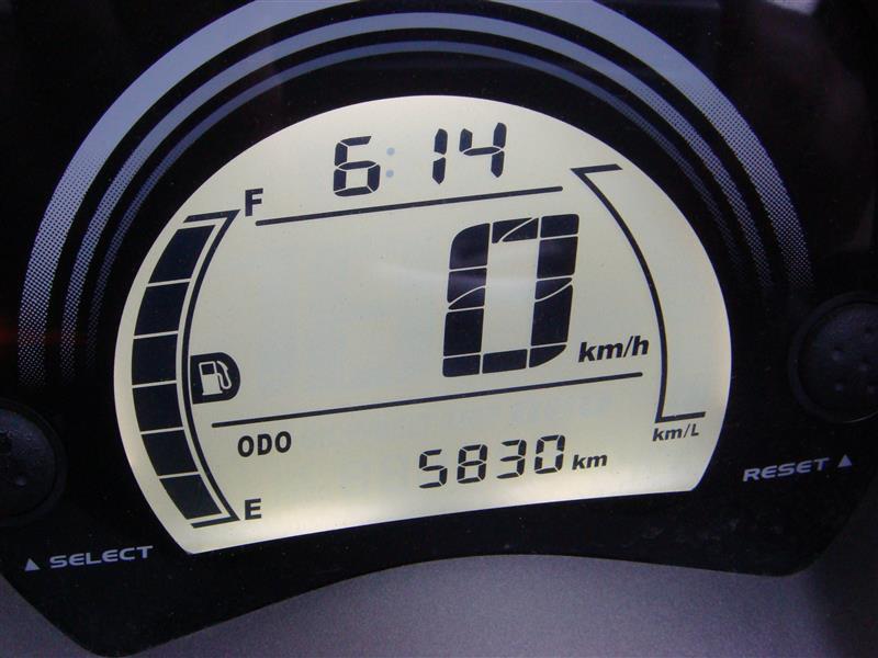 N MAX エンジンオイル交換 5830km